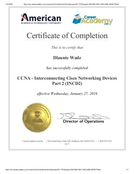 CCNA - Interconnecting Cisco Networking Devices Part 2 (ICND2)